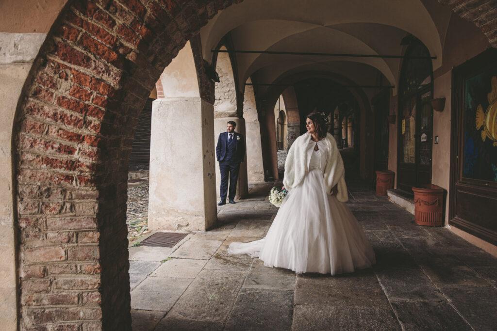 foto centro pinerolo sposi